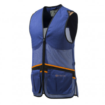 FULL MESH VEST BERETTA BLUE X SMALL