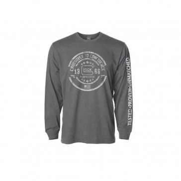 CROSSOVER LONG SLEEVE GREY SMALL