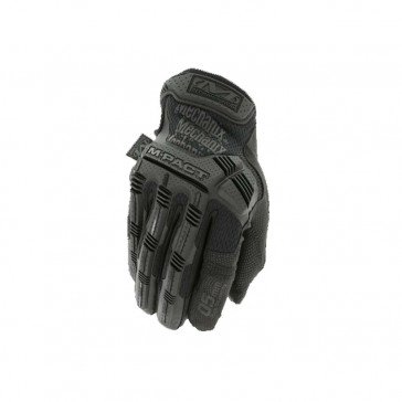 0.5MM M-PACT GLOVES - BLACK, MEDIUM