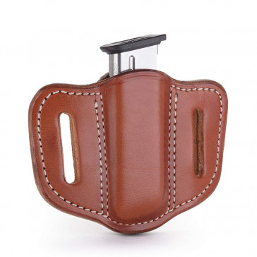 SINGLE STACK MAGAZINE CARRIER - CLASSIC BROWN