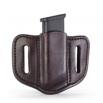 DOUBLE STACK POLYMER MAGAZINE CARRIER - SIGNATURE BROWN