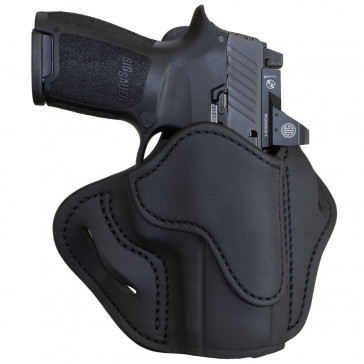 OPTIC READY BH2.4S OPEN TOP MULTI-FIT HOLSTER - STEALTH BLACK - FN HERSTAL 509, H&K 40C/P2000, JERICHO 941, RUGER AMER CMP/P85/P95