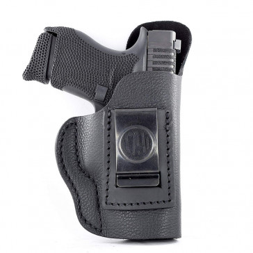 "SMOOTH CONCEALMENT HOLSTER - STEALTH BLACK - RIGHT HAND - COLT 1911 3"", GLK 42/43, KIM 1911 3"", RUG LC9, SIG P365"