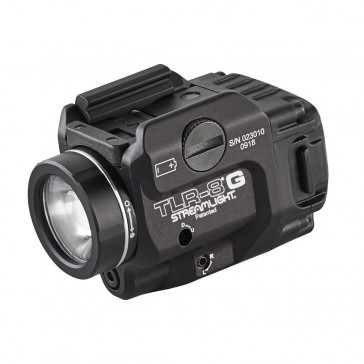 TLR-8® G LOW-PROFILE, RAIL-MOUNTED TACTICAL LIGHT WITH GREEN LASER