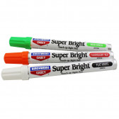 SUPER BRIGHT PEN KIT GREEN RED AND WHITE
