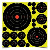 """SHOOT•N•C® ASS'T 1"""", 2"""", 3"""", 6"""" & 8"""" BULL'S-EYES - 1,000 TARGETS"""