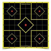 """SHOOT•N•C® SELF-ADHESIVE TARGETS 8"""" SIGHT-IN PACK, 15 TARGETS"""