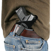 INSIDE-THE-PANTS HOLSTER - BLACK, SIZE 02, RIGHT HAND