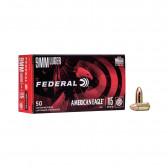 AMERICAN EAGLE® AMMUNITION - 9MM LUGER  - FMJ - 115GR - 50RD