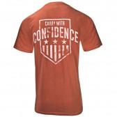 CARRY CONFIDENCE SHIRT RUST/ORANGE S