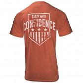 CARRY CONFIDENCE SHIRT RUST/ORANGE XL