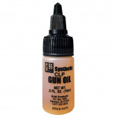 SYNTHETIC CLP GUN OIL - U.S. ARMY APPROVED - 0.5 OZ. PLASTIC BOTTLE