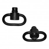RECESSED PLUNGER HEAVY DUTY PUSH BUTTON SWIVELS - MANGANESE PHOSPHATE