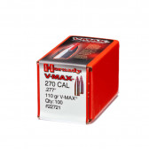BULLET 270CAL 277 110GR VMAX W/C 100/BX