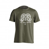 SHEEP TO THE CORE TEE SS CTN MIL GRN XL