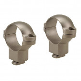 DUAL DOVETAIL RINGS - SILVER