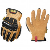 M-PACT LEATHER DRIVER F9-360 GLOVE - TAN, X-LARGE