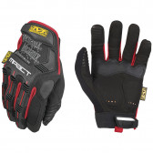 M-PACT GLOVE - BLACK/RED, 2X-LARGE