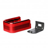 ALUMINUM PLUS2SET PLASTIC FLOORPLATE RED