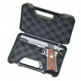 COMPACT HANDGUN CASE - BLACK