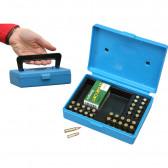 17 & 22 RIMFIRE AMMO BOX - 30 ROUND - CLEAR BLUE