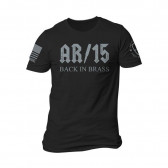 BACK IN BRASS T-SHIRT - BLACK - X-LARGE