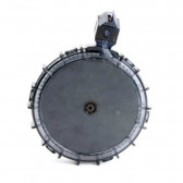 RUGER 10/22 - CHARGER .22LR 7 ROUND SMOKE POLYCARBONATE DRUM MAGAZINE