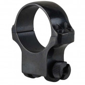 30MM HIGH SCOPE RING WITH BLUED GLOSS FINISH