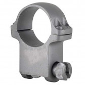 """1"""" X-HIGH SCOPE RING WITH HAWKEYE MATTE STAINLESS FINISH"""
