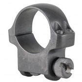 """1"""" MEDIUM SCOPE RING WITH TARGET GREY STAINLESS FINISH"""