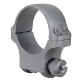 30MM MEDIUM SCOPE RING WITH HAWKEYE STAINLESS FINISH