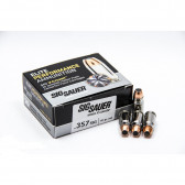 PISTOL V-CROWN ELITE AMMUNITION - 357 SIG, 125 GR, 20 ROUNDS