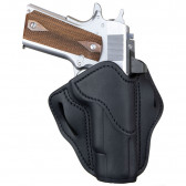 "OPTIC READY BH1 1911 BELT HOLSTER - CLASSIC BROWN - 1911 4""/5"", BRN HP, COLT DELTA RAIL, KEL PMR30, KIM 1911 4""/5"", KIMBER PRO TLE/RL II"