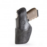 RIGID CONCEALMENT IWB HOLSTER - BLACK - RIGHT HAND - CZ P10C, FNS, GLK 17/19/21, RUG SR9, SIG P225, S&W SHIELD, SPR XDS