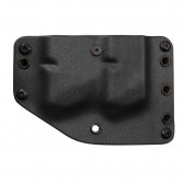 OUTSIDE THE WAISTBAND TWIN MAG CARRIER - RH, BLACK