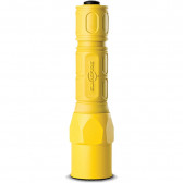 PRO FLASHLIGHT, DUAL OUTPUT, LED, YELLOW