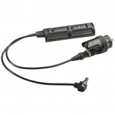REMOTE DUAL SWITCH FOR WEAPON LIGHT & ATPIAL LASER DEVICE, BLACK