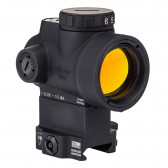 TRIJICON MRO - 2.0 MOA ADJUSTABLE GREEN DOT WITH LOWER 1/3 CO-WITNESS LEVERED QUICK RELEASE MOUNT