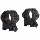 TACTICAL 6-HOLE PICATINNY RING - MATTE, HIGH, 30MM