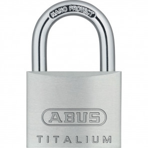 ABUS 64 SERIES 64TI/40C KD TITALIUM - STEEL SHACKLE