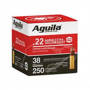 AGUILA STANDARD .22 LR AMMUNITION - 250/BX