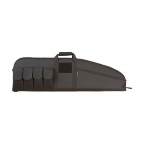 COMBAT TACTICAL RIFLE CASE - BLACK - 46""