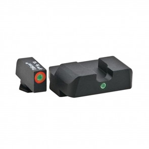 GLOCK PISTOL SIGHT SET - 42 / 43 - I-DOT - GREEN TRITIUM ILLUMINATION