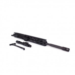 "AR-15 UPPER - MATTE BLACK, NO BOLT CARRIER GROUP/CHARGING HANDLE, 5.56X45MM, 16"" BBL, 10"" M-LOK"
