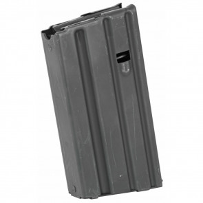 AR-15 .223/5.56 ALUMINUM 20 ROUND MAGAZINE - GREY MOLY, GREY FOLLOWER