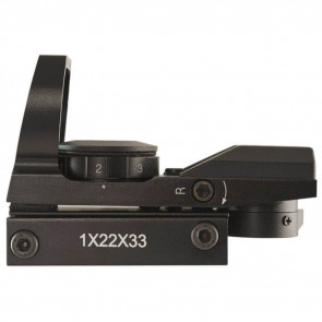AXEON 4-RS MULTI RETICLE REFLEX SIGHT - 1X, 4 RED RETICLE OPTIONS