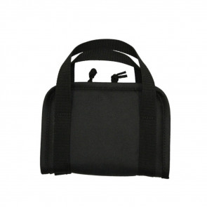 "TACTICAL HANDGUN CASE - 10"" X 6.5"" X 1.25"" - BLACK"