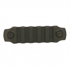 "KEYMOD NYLON RAIL, 3"", BLACK"