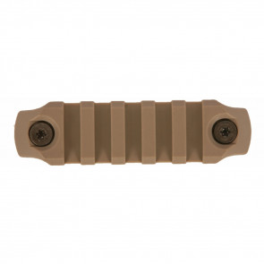 "KEYMOD NYLON RAIL, 3"", FLAT DARK EARTH"