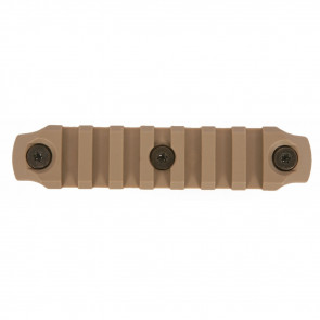 BCMGUNFIGHTER KEYMOD NYLON RAIL 4IN FDE